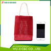 Polyester tote bag gift packaging bag