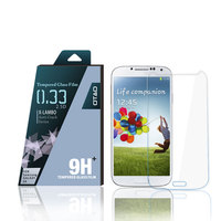 for Samsung galaxy S4 i9500 glass film screen protectors from screen machine cutting