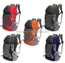 35L Nylon waterproof professional outdoor sports camping hiking backpack climbing bag traveling double shoulder rucksack