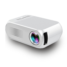 Strongtimes YG320 1080P TFT LCD projector, mini data show home video projector with battery support various devices