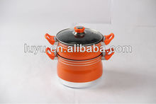 LY-823 aluminium non-stick steamer Pot With Good price and Good Qulity