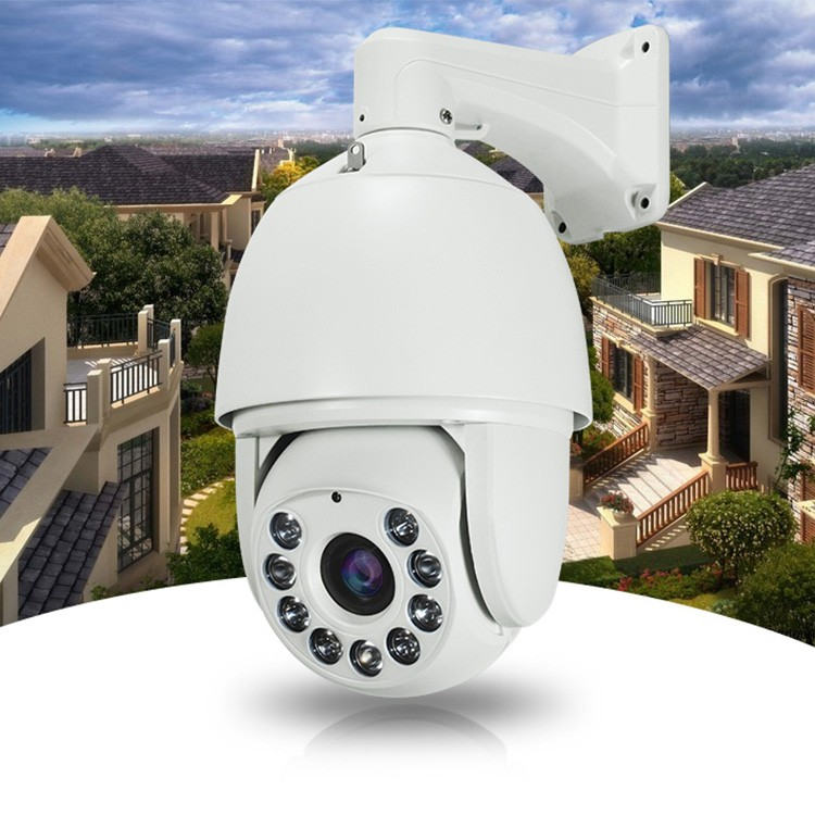 Waterproof Network 2.0 Megapixel 30X Pan/tilt zoom High-Speed Dome 1080P IP PTZ Camera with 150m IR POE optional