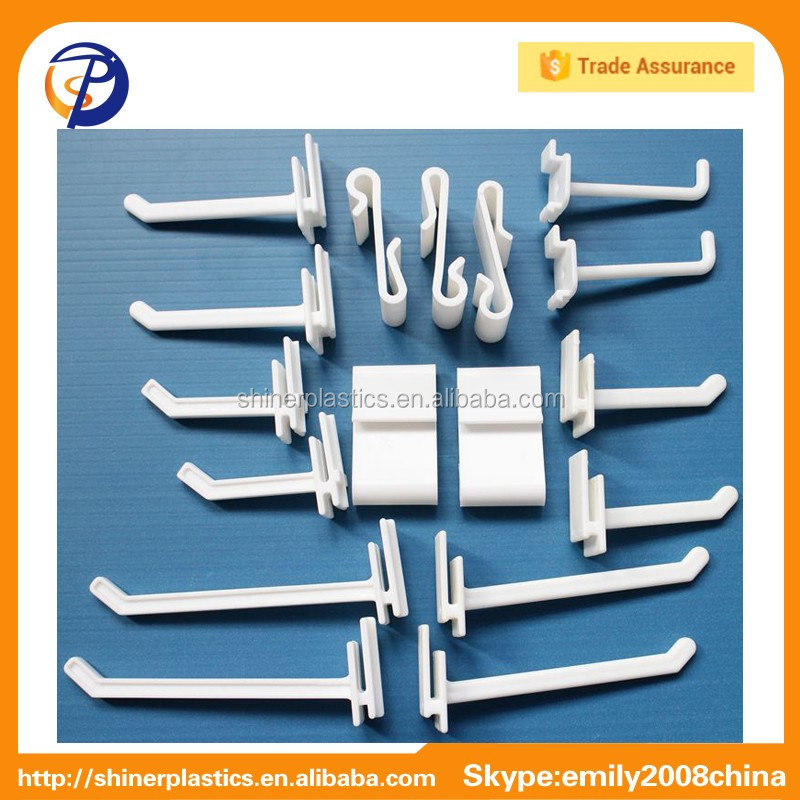 Custom ABS Plastic Injection Molded Hooks