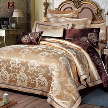 Wholesale jacquard polyester 5 star hotel bed bedding set / bed sheet / hotel bed linen with customized