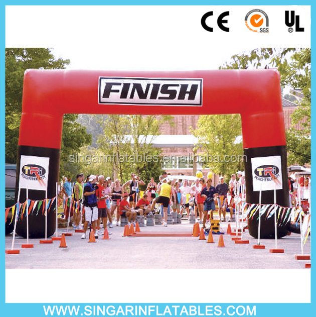 Best selling inflatable arch for sports,inflatable racing finish line arch