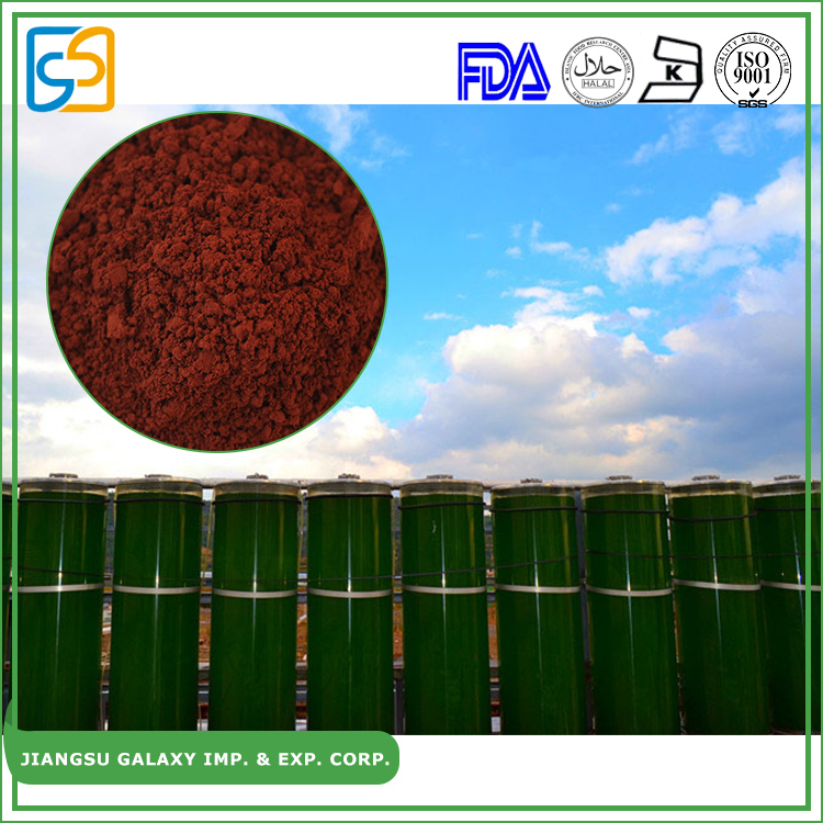 China factory pure powder / liquid astaxanthin health care product haematococcus pluvialis