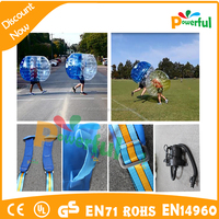 plastic bubble football made in china