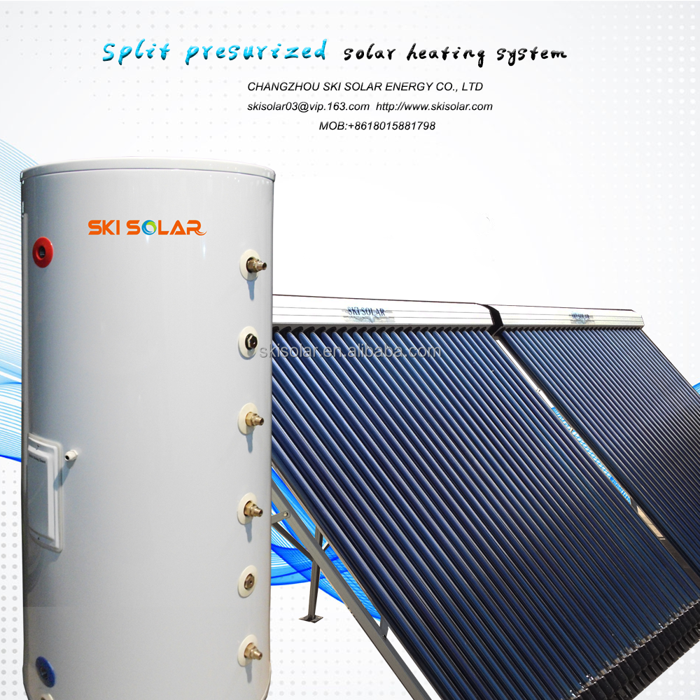 split solar system water heater machine