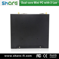 mini pc dual nic x3900 intel celeron 1037U 6*USB port education office factory use support multi os