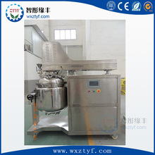 PLC High Shear vacuum homogenizing emulsifying mixer for food industry/toothpaste mixer