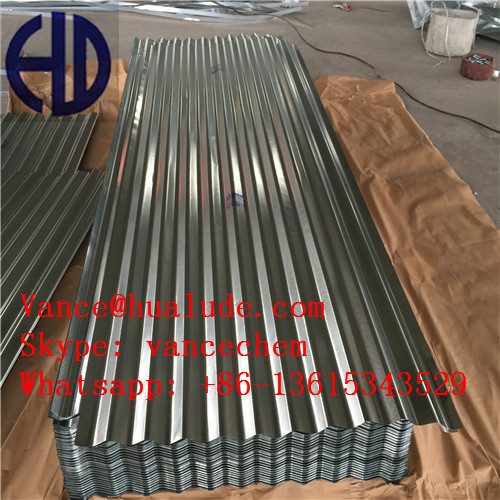 Corrugate Galvanized Steel Sheet for Metal Building Roofing Shed