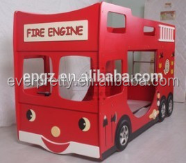 hot sale cheap kids furniture car shape bunk beds kids bunk beds with stairs modern furniture beds