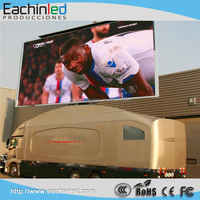 Eachinled bus led display mobile led billboard trailer, mobile truck led tv
