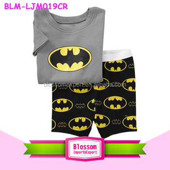 2016 New Kids toddler clothes Pajamas Set boys girls sleepwear pyjamas pattern printed cartoon long sleeves newborn pajamas set