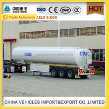 CHINA SINOTRUCK HOWO high quality 45000 liters oil tanker trailer small fuel tank trailer crude oil tank trailer