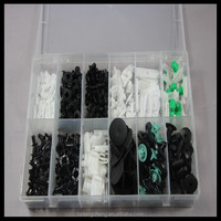 door panel auto plastic clip 255pc assortment door panel auto plastic clip