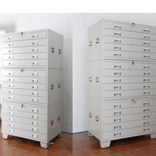 Hot Selling Structure Large Capacity Metal Steel Practical Map Cabinet