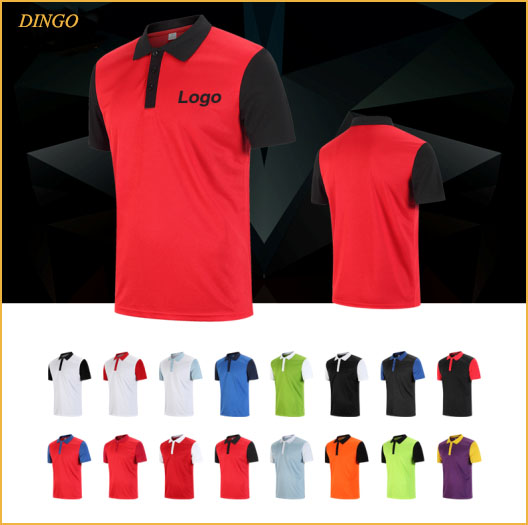 Custom high quality polo t shirt with brand logo