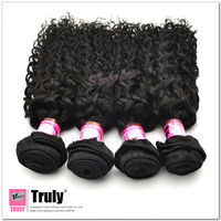"Grade 5A Bohemian curly hair weft, 24"" 1 pc lot, natural color"