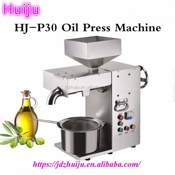 best price! 15-20kg/hour sunflower oil extraction machine HJ-P30
