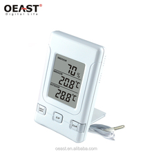 Digital LCD Indoor Weather Humidity Hygrometer Thermometer Meter Clock