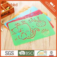 Cartoon kids play toy Drawing Stencil Set