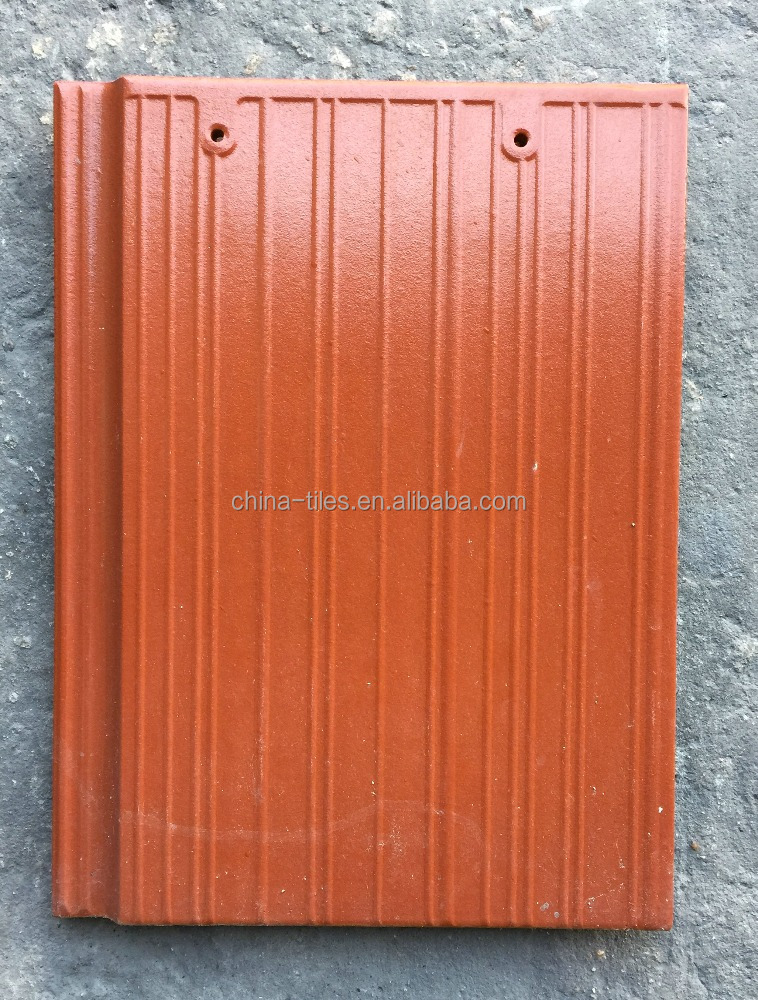 Plain Roof Tiles Type and Color Steel Plate Material spanish red clay roof tiles