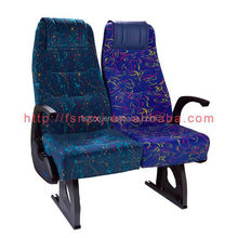 toyota coaster bus seats fabric with headrest for sale