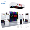 Detian Offer trade show expo booth display stand advertising display