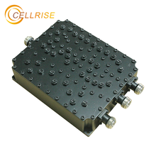 Low price 698-960/1710-2170/2400-2700MHz N Female rf quad multi trip band combiner 3 in 1 out