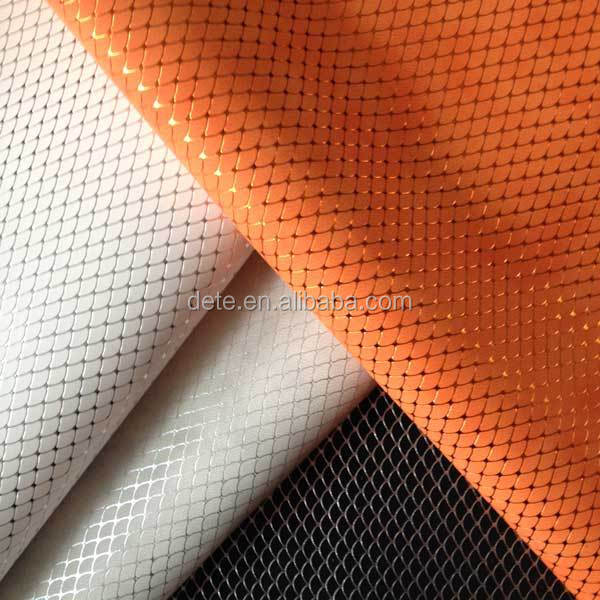 pu artificial leather embossing faux leather