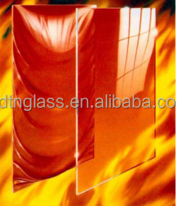 TENA monolithic borosilicate single-pane fire resistant safety glass (ultra clear color, transparent)