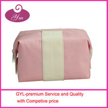 Foldable man cosmetic pouch,nylon makeup bag,cheap fold bag