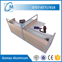 6063-T5 Extrusion Aluminum profile for office partition