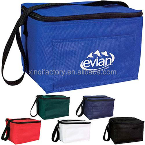 high quality durable 210D polyester whole food cooler bag/insulated polyester cooler lunch bag