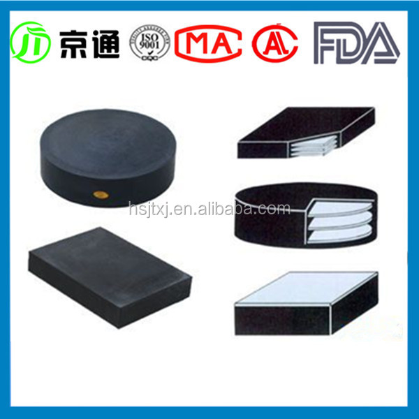 Stainless Steel coated Neoprene Rubber Pad