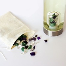 Revitalizes Water Gem Stone Personal Wellness Water Bottle