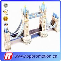 DIY London Bridge 3d paper puzzle architecture model
