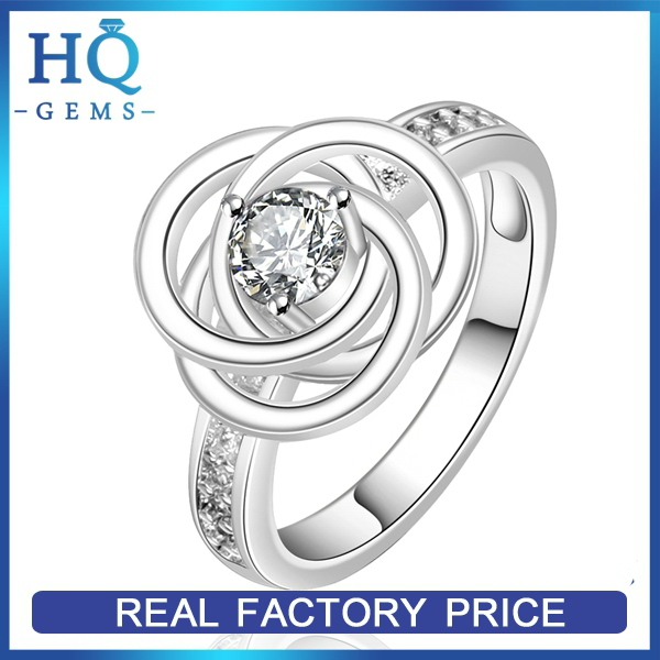 Top grade hot selling silver poison ring