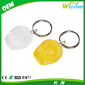 Winho hot sales promotional gifts plastic mini hard hat keychain