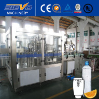 small PET bottle liquid filling machine / mineral water filling line