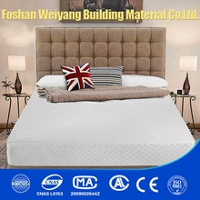 compressed memory foam topper talalay latex ripple mattress topper