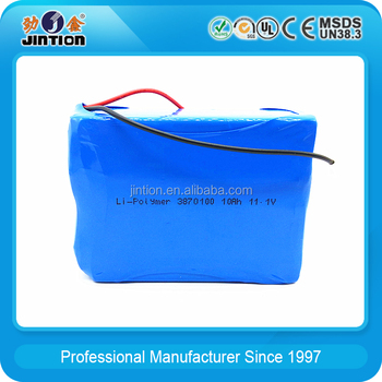 Li-Polymer 3870100 10000mAh 3.7v Rechargeable battery
