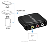HDMI to AV /RCA converter support 1080p,No need to install drivers, plug and play