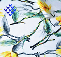 Printing Chiffon Fabric,Flower printed,100% Polyester