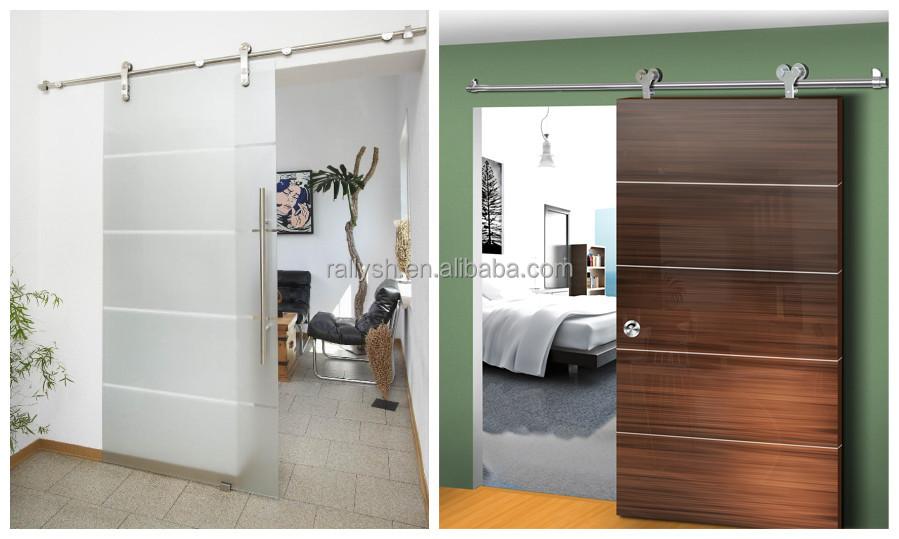 Badkamer Ideeen Modern ~ frameless schuifdeur hardware voor glazen deur, houten deur, schuur