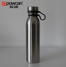 Powcan outdoor sports thermos insulated stainless steel metal water bottle