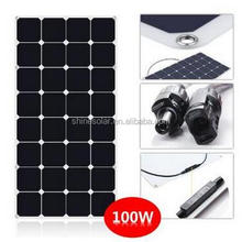 High Efficiency Sunpower Portable Flexible Solar Panel 100w 12v