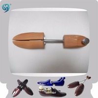cedar wood adjustable size logo women men shoe tree