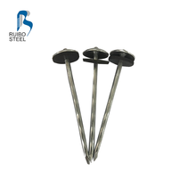 Hot Sale Wholesale Galvanized Rubber Washer Roofing Nails with Rubber Gasket
